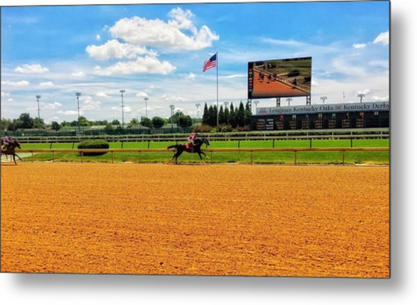 Race Day  Metal Print