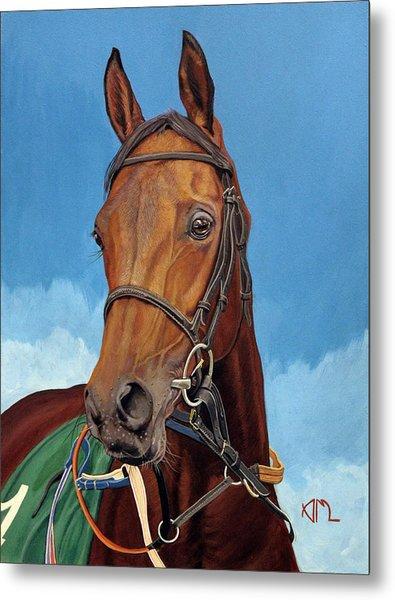 Radamez - Arabian Race Horse Metal Print