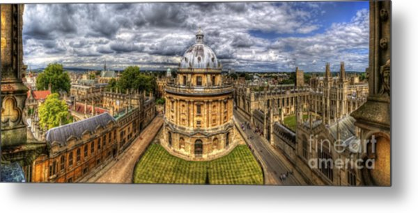 Radcliffe Camera Panorama Metal Print