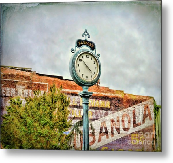 Radford Virginia - Time For A Visit Metal Print
