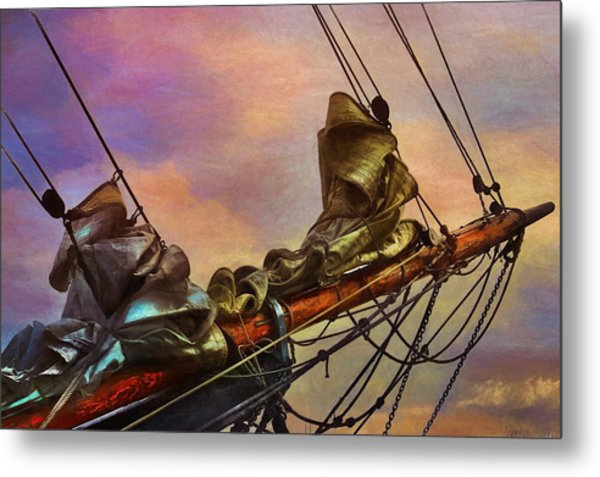 Radiant Old Greement Metal Print by Karo Evans