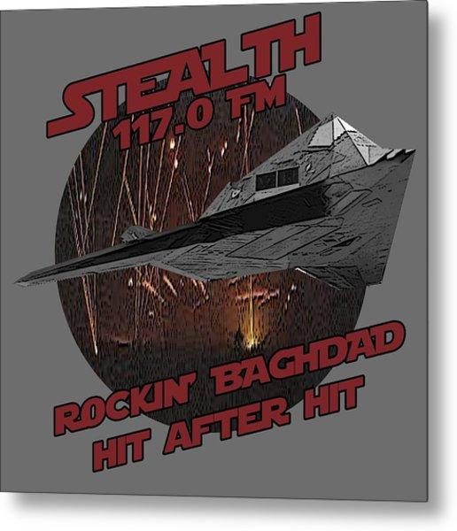 Radio Baghdad Metal Print