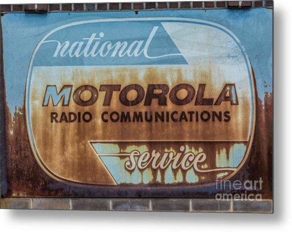 Radio Communications Metal Print