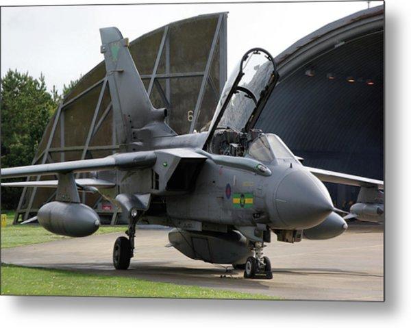 Raf Panavia Tornado Gr4 Metal Print