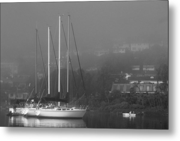 Raft Up Metal Print