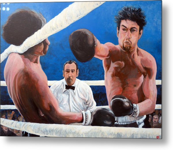 Raging Bull Metal Print
