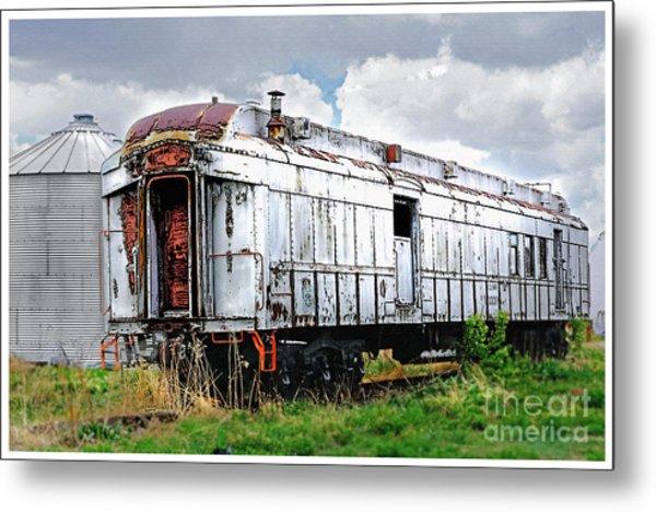 Rail Car Metal Print