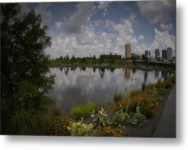 Railroad Park Metal Print