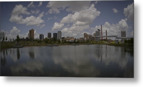 Railroad Park View Metal Print