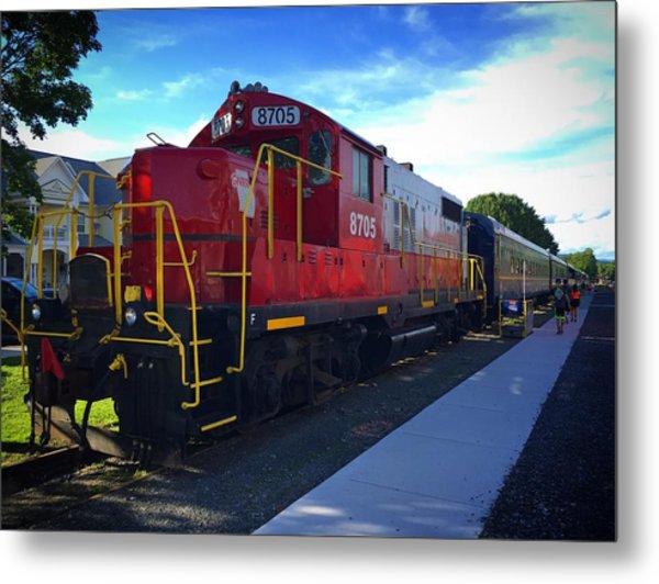 Blue Ridge Railway Metal Print
