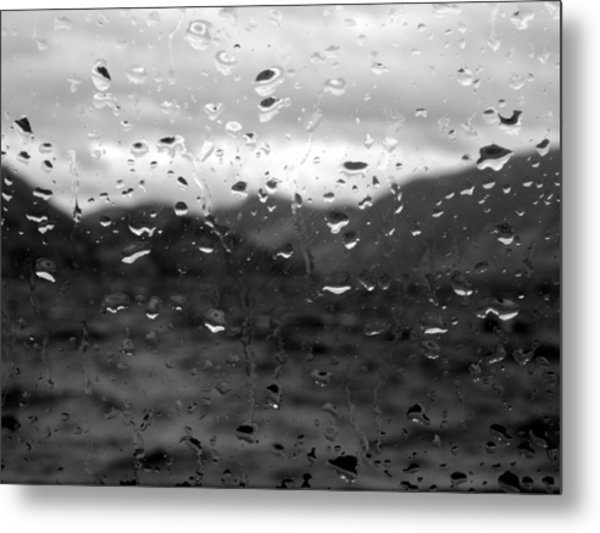 Rain And Wind Metal Print