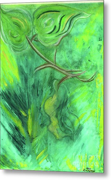Rain Forest Revisited Metal Print