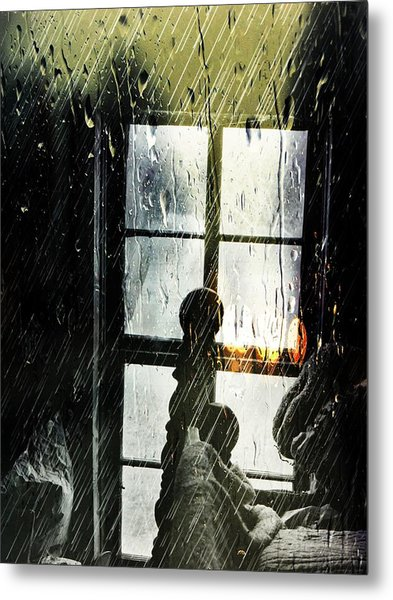 Rain In My Heart Metal Print