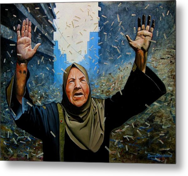 Rain Of Terror Metal Print by Doug Strickland