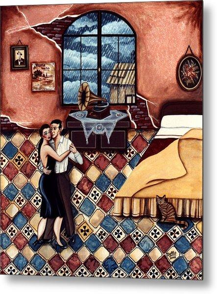 Rain, Romance And Tango Metal Print