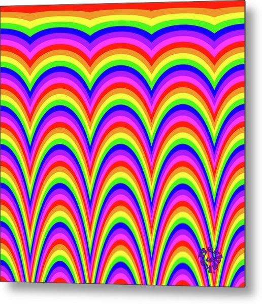 Rainbow #4 Metal Print