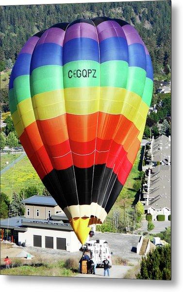 Rainbow Balloon 5 Metal Print
