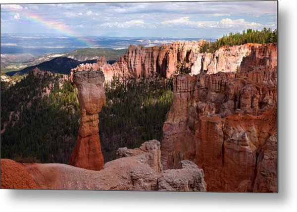 Rainbow Bryce Canyon Metal Print