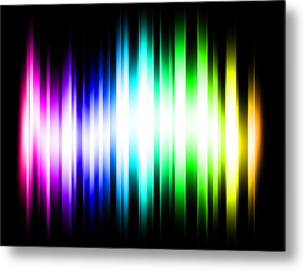 Rainbow Light Rays Digital Art By Michael Tompsett
