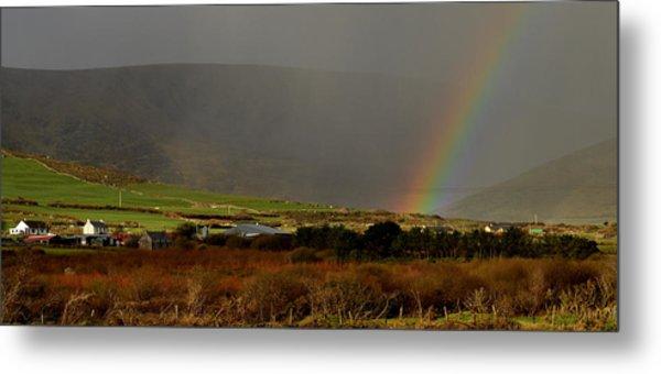 Rainbow Near Dingle Metal Print