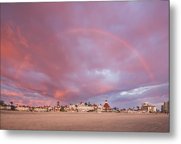 Rainbow Proposal Metal Print