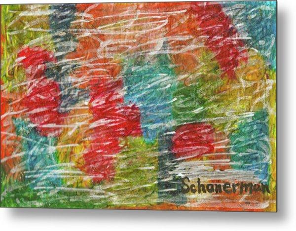 Rainbow Sparkle Metal Print