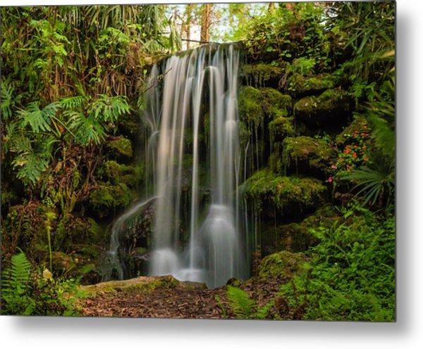 Rainbow Springs Waterfall Metal Print