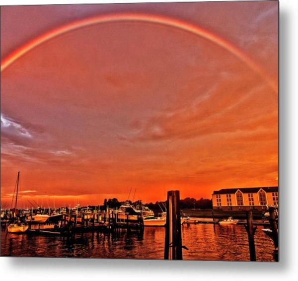 Rainbow Sunrise Metal Print