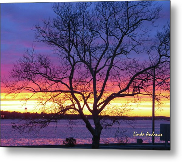 Metal Print featuring the photograph Rainbow Sunset by Robert Henne