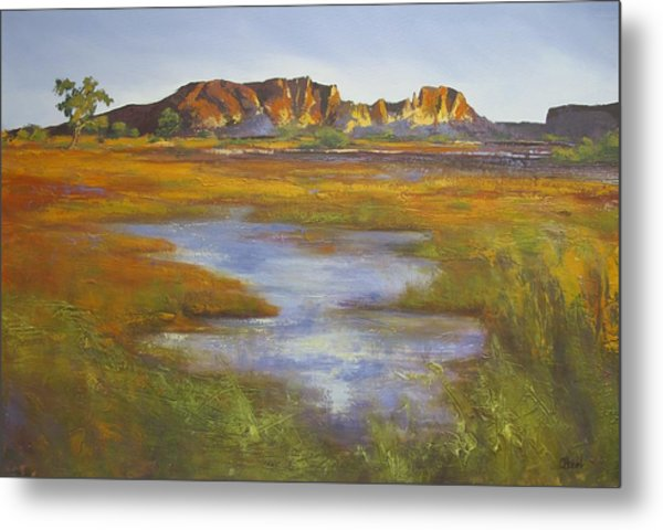 Rainbow Valley Northern Territory Australia Metal Print