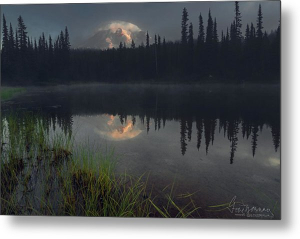 Rainier's Mood Metal Print