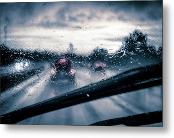 Rainy Day In July Metal Print