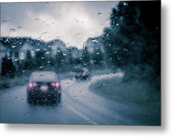 Rainy Day In June Metal Print