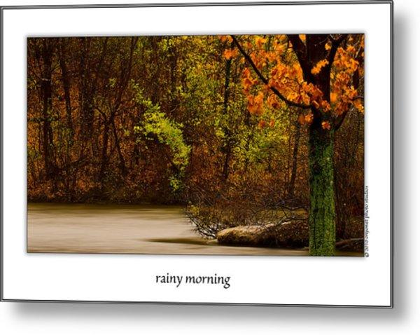 Rainy Morning Metal Print