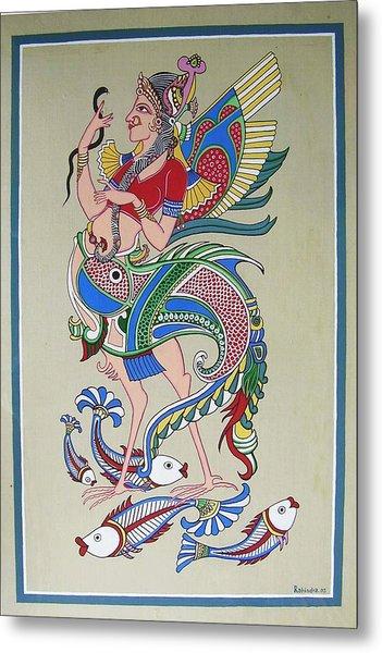 Raj Hanshi Fish Metal Print by Rabindra Meher