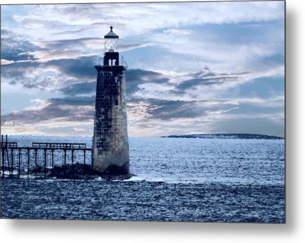 Ram Island Head Lighthouse.jpg Metal Print
