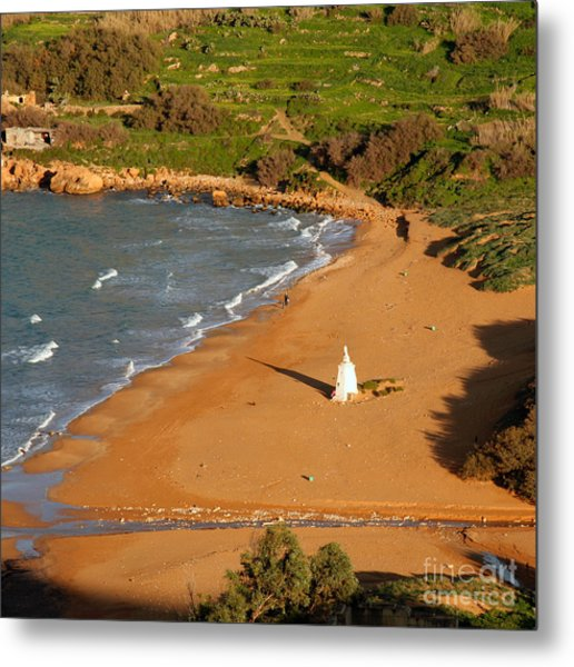 Ramla Bay Metal Print by Sascha Meyer