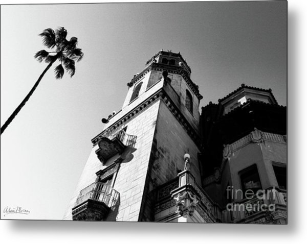 California Castle Metal Print