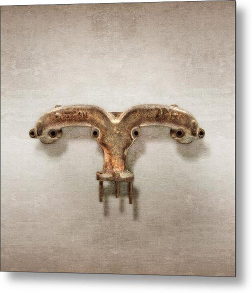 Ram's Horn Exhaust Metal Print