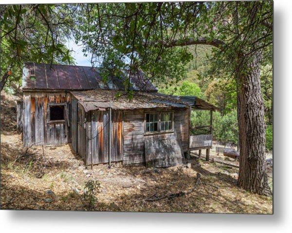 Ramsey Canyon Cabin Metal Print