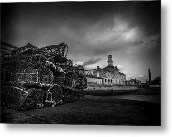 Ramsgate Lobster Pots  Metal Print