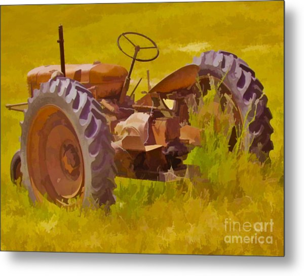 Ranch Hand Metal Print
