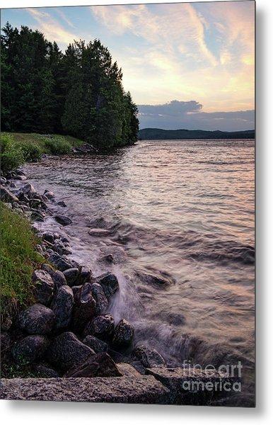 Rangeley Lake State Park In Rangeley Maine  -53215-53218 Metal Print