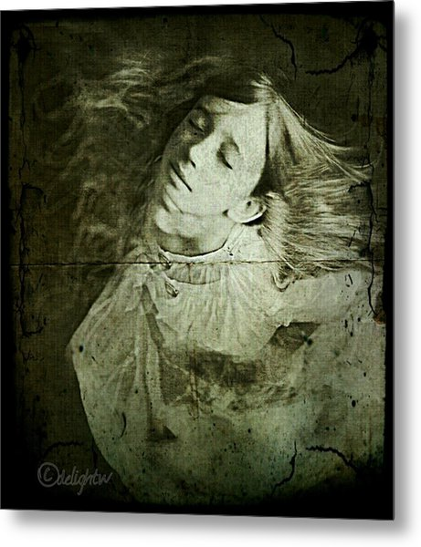 Metal Print featuring the digital art Rapture by Delight Worthyn