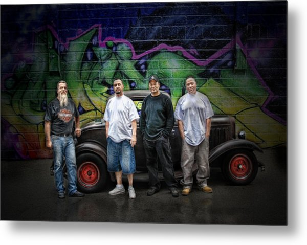 Rat Rod Kulture .... Metal Print by Rat Rod Studios