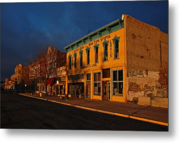 Raton Historic District Metal Print