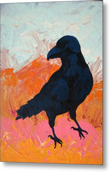 Raven I Metal Print by Dodd Holsapple