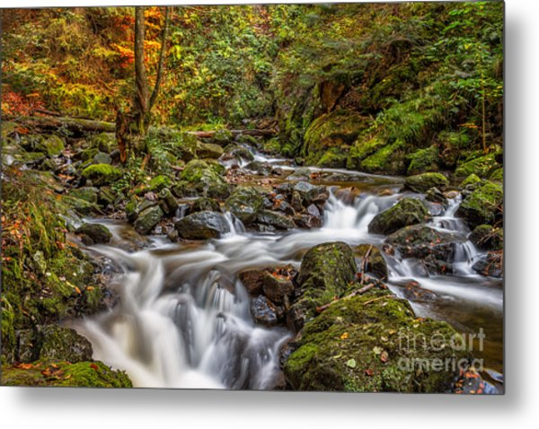 Cascades And Waterfalls Metal Print