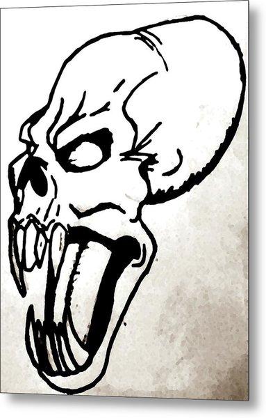 Ravenous Metal Print