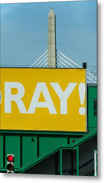 Ray Metal Print by Art Ferrier